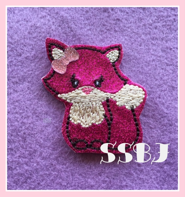 SSBJ_Sly Fox Embroidery File