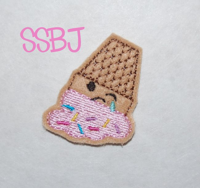 SSBJ Smashed Cone Embroidery File