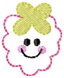 Smiley Raspberry Embroidery File