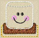 Smores Embroidery File