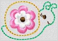 M2M Snail Embroidery File