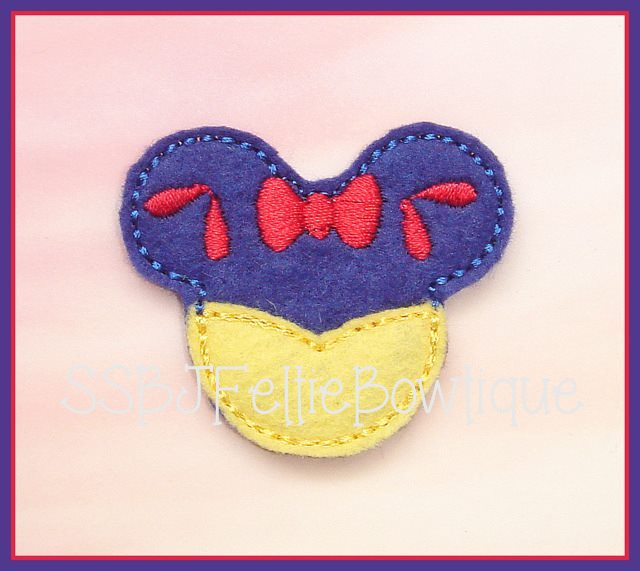 Snow Mouse Embroidery File