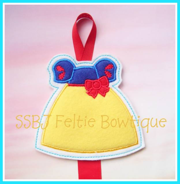 Snow White FK Dress Embroidery File