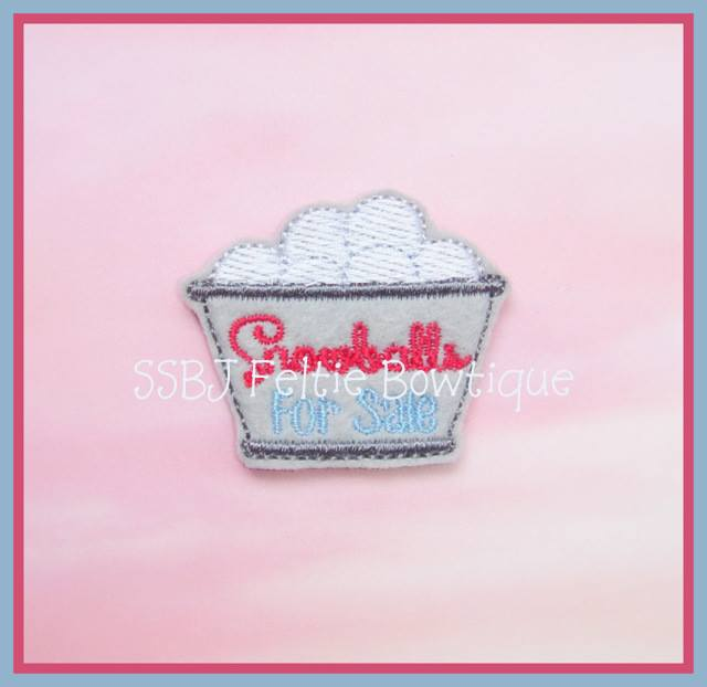 Snowballs for Sale Embroidery File