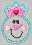 Snowgirl Princess Embroidery File