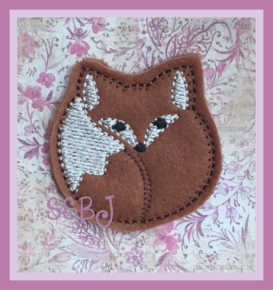 SSBJ Snuggly Fox Embroidery File