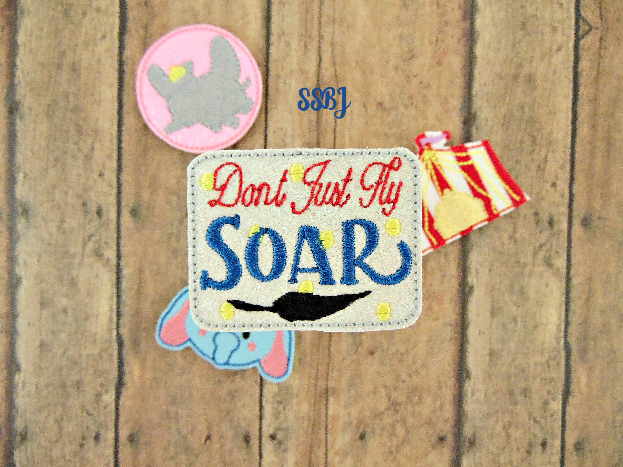 SSBJ SOAR Embroidery File