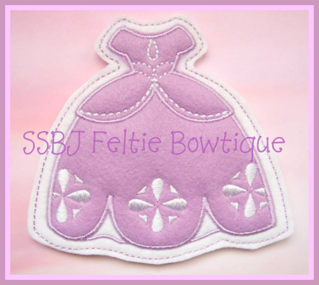 Sophia FK Dress Embroidery File