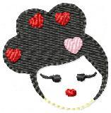 Harajuku Embroidery File Sophie
