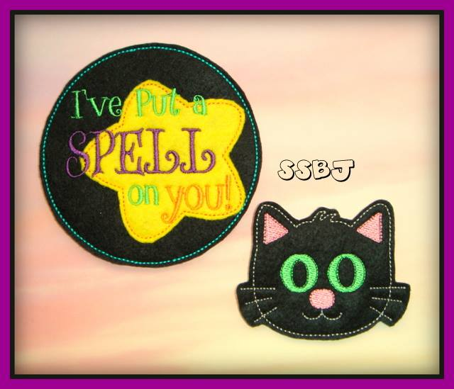 Black Cat/Spell On You Embroidery File