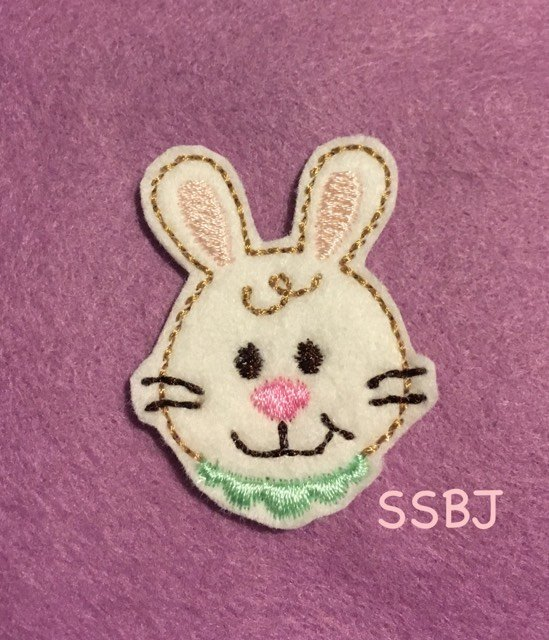 SSBJ Spring Time Bunny Embroidery File