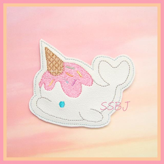Sprinkle Whale Embroidery File