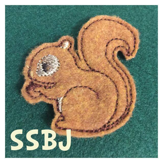 SSBJ Squirrel  Embroidery File