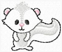 LBS Stinkin Cute Embroidery File