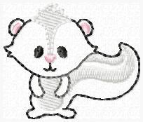 LBS Stinkin Cute Embroidery File