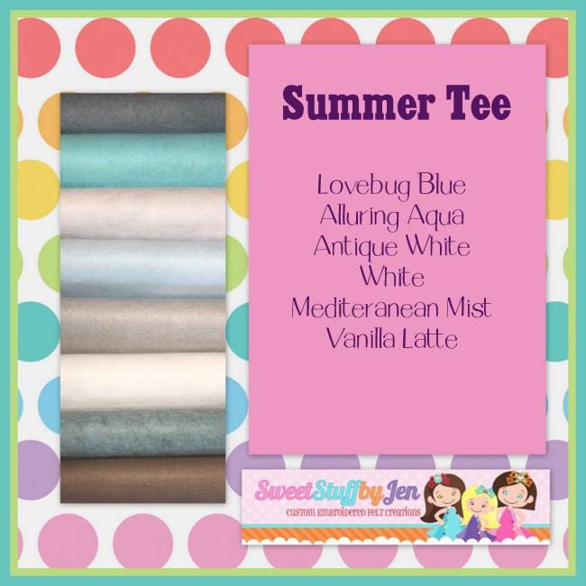 Summer Tee Felt Pack