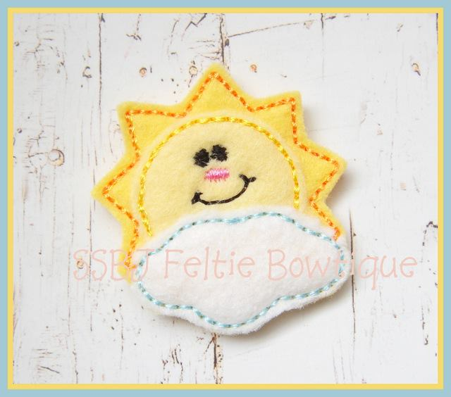 Mr Sunshine embroidery File