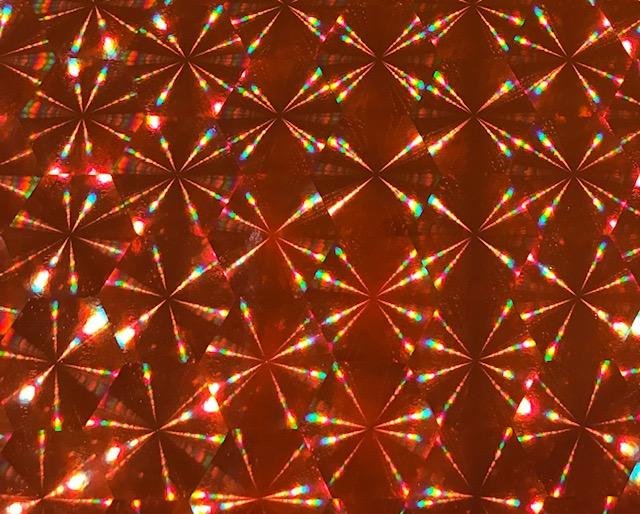 Sunburst HOLO Orange Embroidery Vinyl