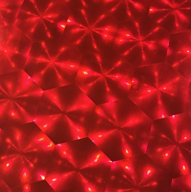 Sunburst HOLO Red