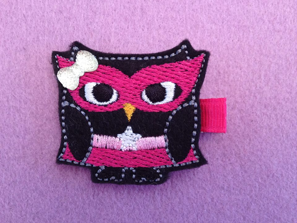 Stargirl Owl Embroidery File