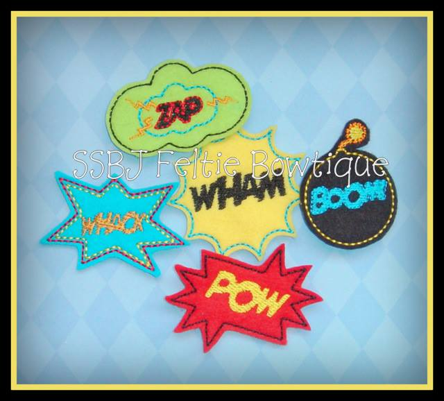 Superwords Embroidery Files
