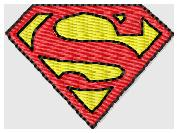 Superman Embroidery File