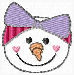 Suzy Snowgirl Embroidery File