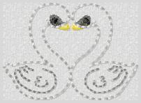 Swans Embroidery File