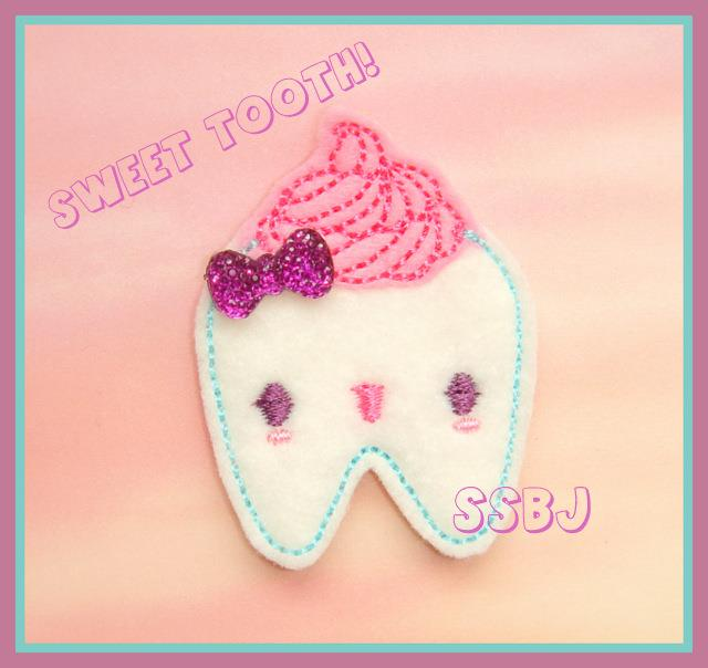 Sweet Tooth Embroidery File