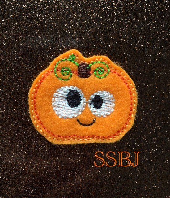 SSBJ Thanksgiving Friends Pumpkin Embroidery File