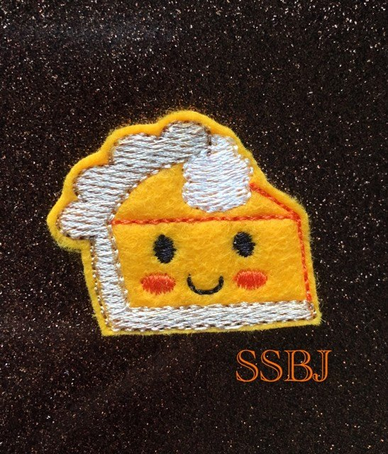 SSBJ Thanksgiving Pie Slice Embroidery File