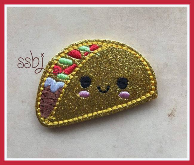 SSBJ Taco Embroidery File