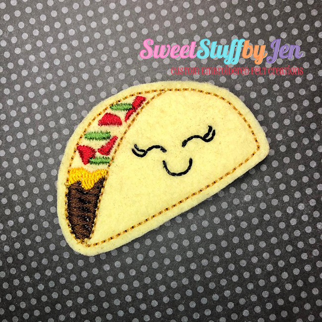 SSBJ Taco 2 Embroidery File