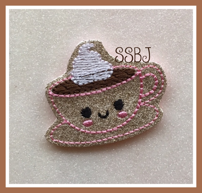 SSBJ Kutie Tea Cup Embroidery File