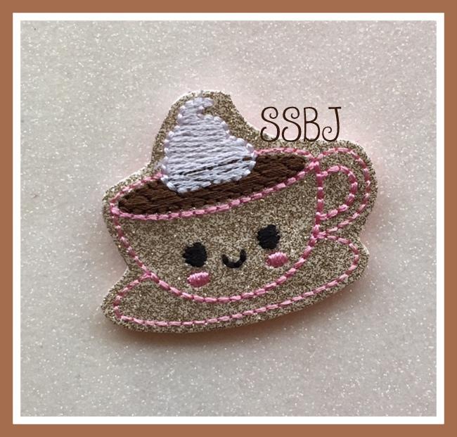 SSBJ Kutie Tea Cup Embroidery File