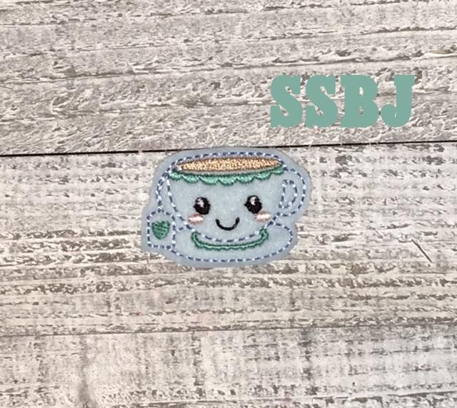 SSBJ Teacups Embroidery File