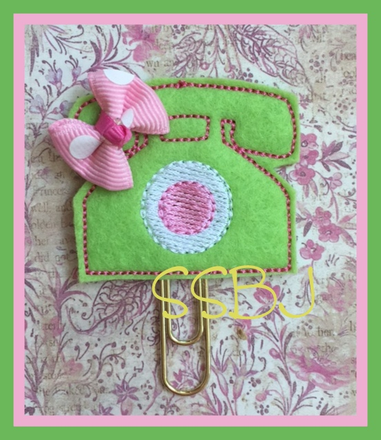 SSBJ Home Phone Embroidery File