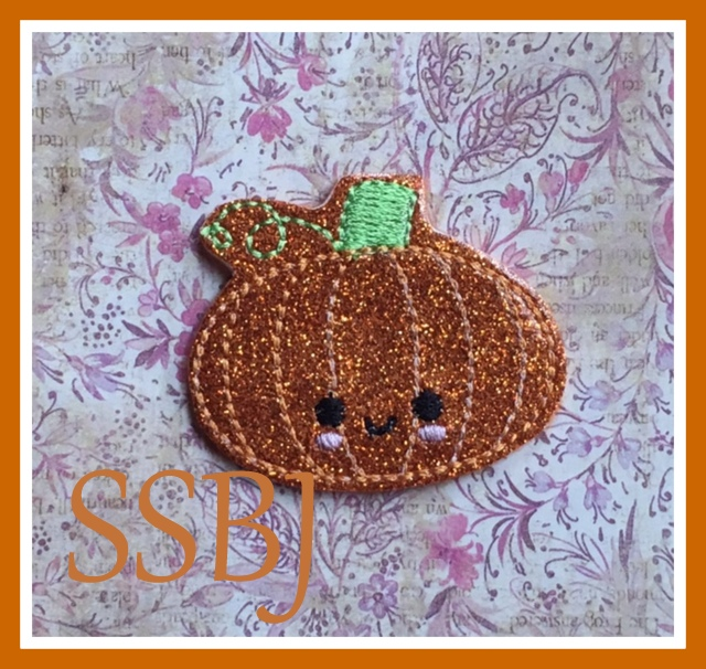 SSBJ Thanks Pumpkin Embroidery File