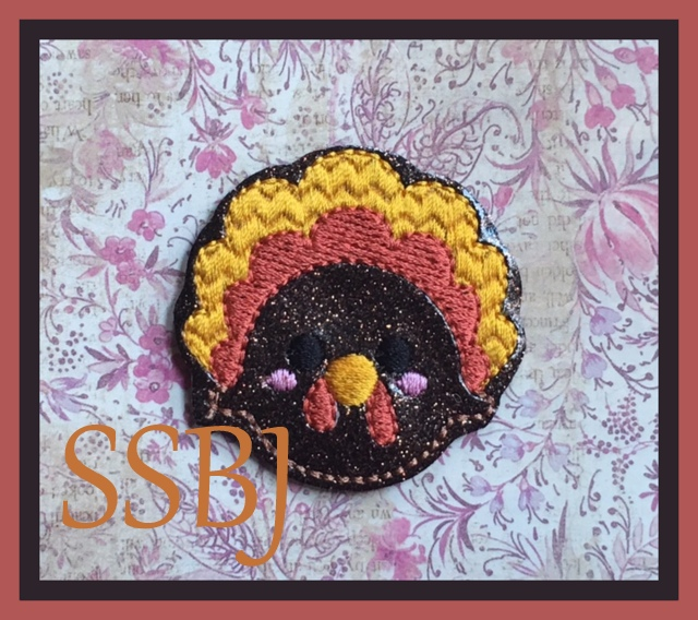 SSBJ Turkey Embroidery File