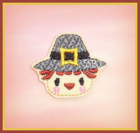 Raggy Pilgrim Embroidery File