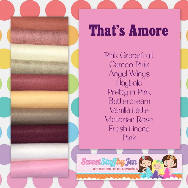 That's Amore Felt Pack