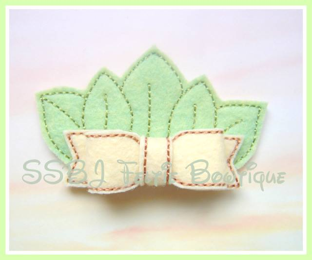 Tiana Crown Embroidery File