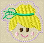 SS Princess Tink 2 FACE Embroidery File