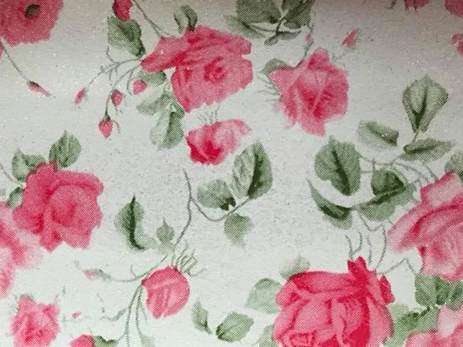 Tiny Roses Embroidery Vinyl