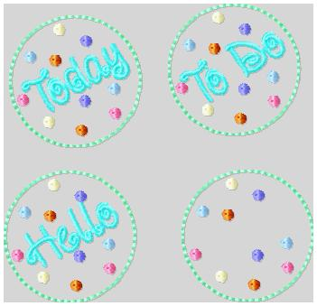 Today Clips Embroidery Files
