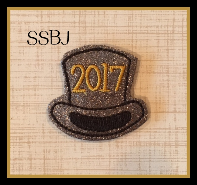 SSBJ 2017 Top Hat Embroidery File
