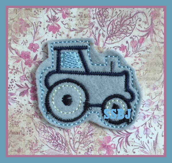 SSBJ Tractor Embroidery File