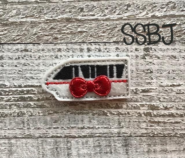 SSBJ Park Tram Embroidery File