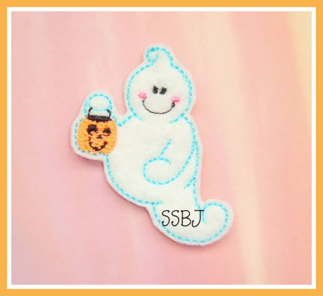 Treat Ghost Embroidery File