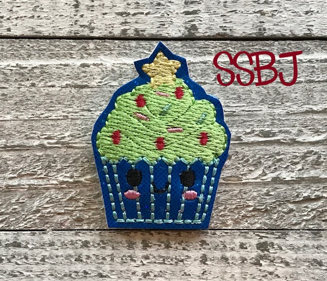 SSBJ Christmas Tree Cake FILL Embroidery File